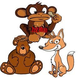 Meda, lija i majmun osnivaju stranku @ vicevi o životinjama