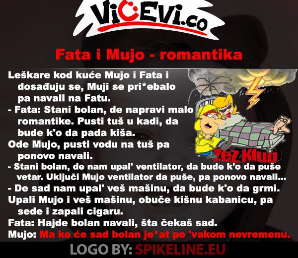 Fata i Mujo – romantika @ vicevi o Bosancima