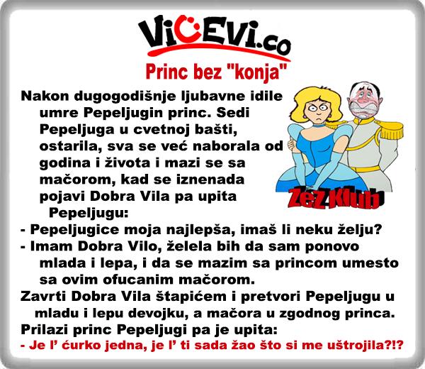 """Princ bez """" konja """" @ nesvrstani vicevi"""