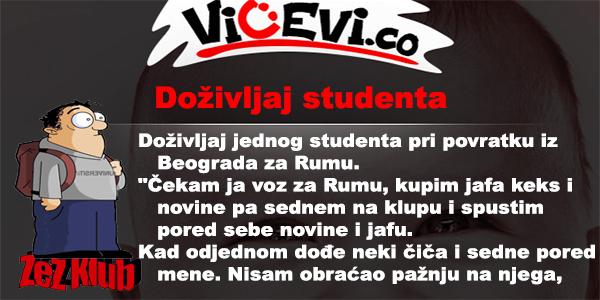 Doživljaj studenta @ vicevi - nesvrstani