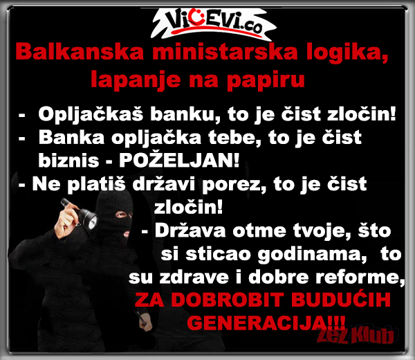 Vicevi o političarima @ Balkanska ministarska logika., lapanje na papiru
