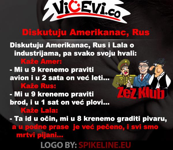 Diskutuju Amerikanac, Rus i Lala @ vicevi o Vojvođanima, Narodi