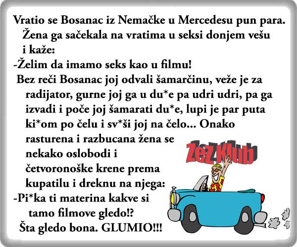 Filmski seks @ vicevi o Bosancima