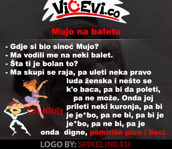 Mujo na baletu @ vicevi o Bosancima