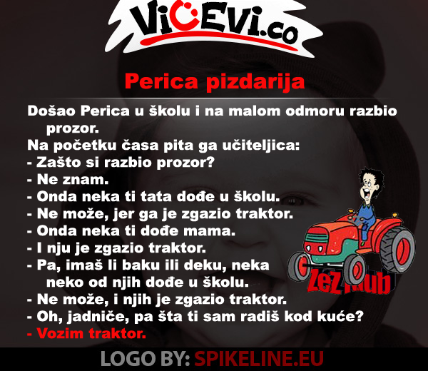 Perica pizdarija @ vicevi o Perici