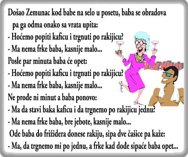 Da trgnemo rakijicu @ vicevi o Babi & Zemunac