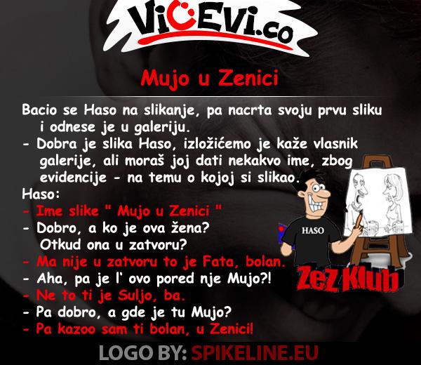 Mujo u Zenici @ Vicevi o Bosancima