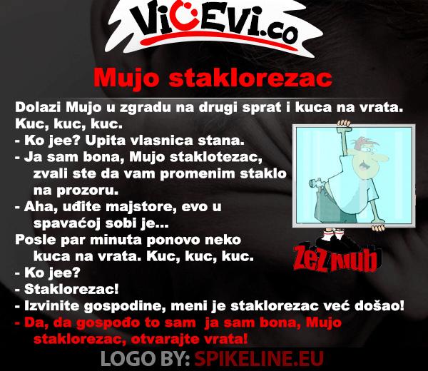 Mujo staklorezac @ vicevi o Bosancima