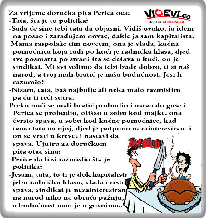 Šta je to politika - Perica , vicevi o Perici