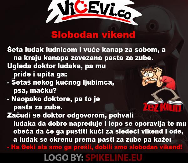 Slobodan vikend @ vicevi o Ludacima