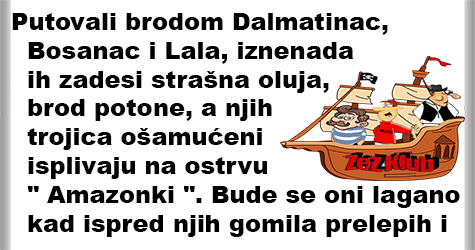 Brodolom, vicevi o Vojvođanima, Hrvatima, Bosancima, Dalmatincima 1