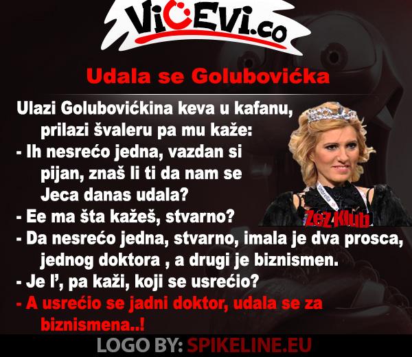Udala se Golubovićka @ vicevi o Javnim ličnostima