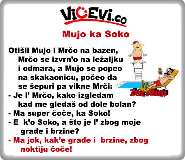 Mujo ka Soko @ vicevi o Bosancima, vicevi o Crnogorcima