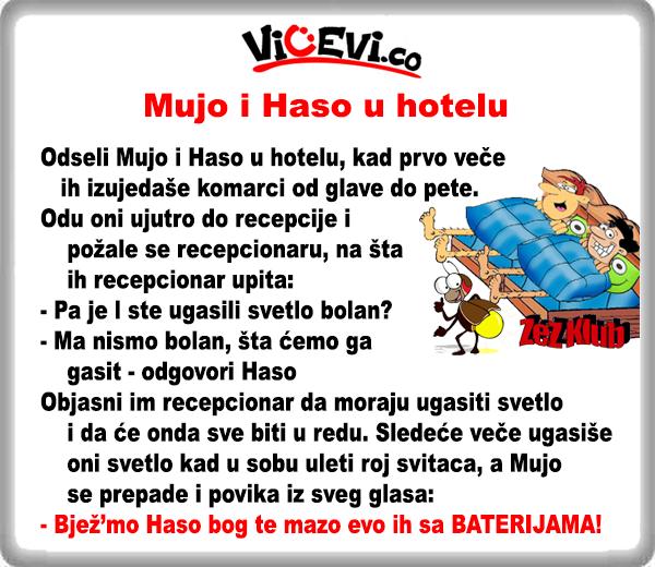 Mujo i Haso u hotelu @ vicevi o Bosancima