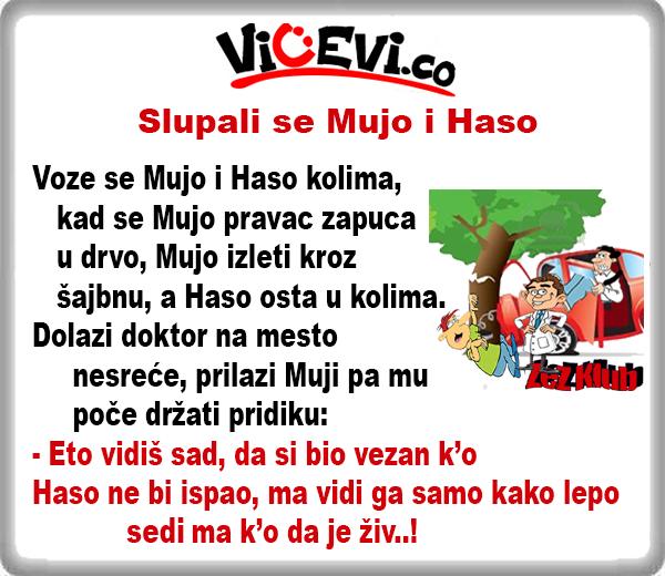 Slupali se Mujo i Haso @ Vicevi o Bosancima, najbolji vicevi