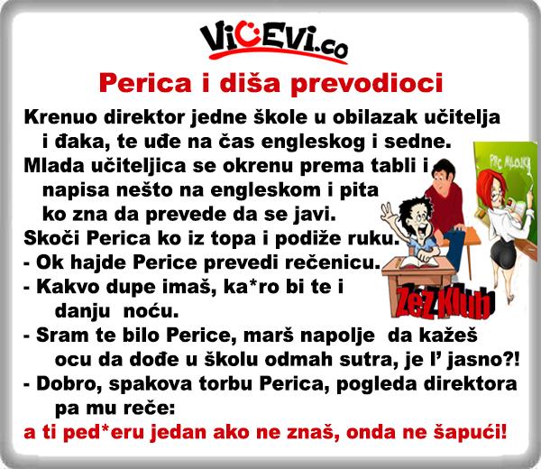 Perica i diša prevodioci @ vicevi o Perici