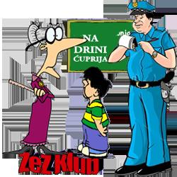 Perica - Na Drini Ćuprija @ vicevi o Perici, Policajcima