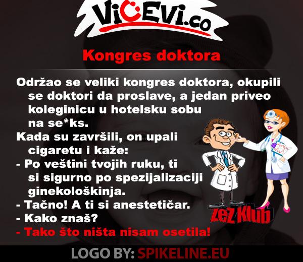 Kongres doktora @ vicevi o Doktorima