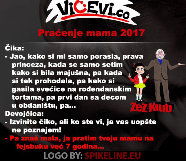 Praćenje mama 2017 @ Vicevi nesvrstani