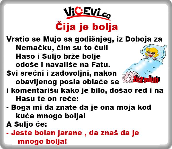 Čija je bolja @ Vicevi o Bosancima