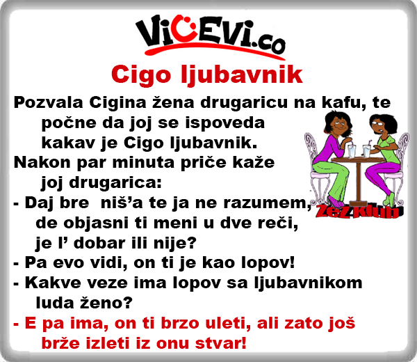 Cigo ljubavnik @ Vicevi o Cigi
