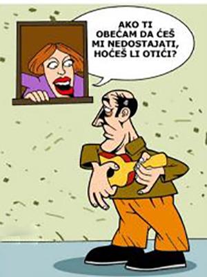 Crtani vicevi 1, humor u stripu